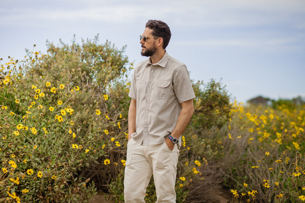Lifestyle blogger Devin McGovern of Outlined Cloth features Rogue Territory for the summer