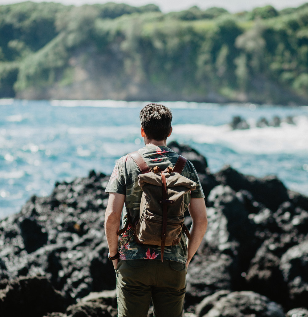 Top 5 Instagram Photo Spots - Road to Hana, Keanae Peninsula of Outlined Cloth