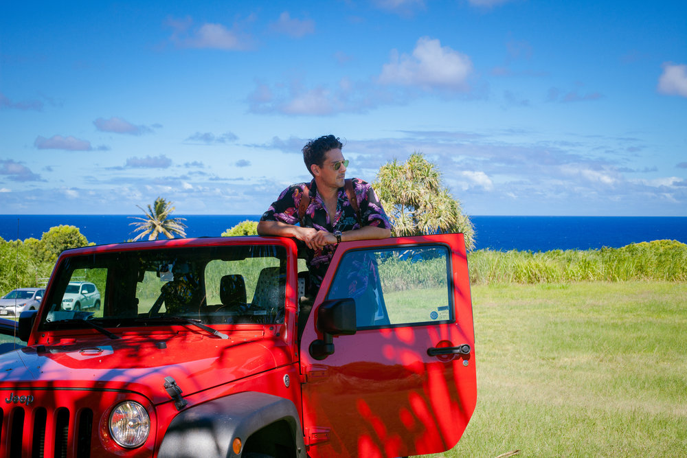 Top 5 Instagram Photo Stops Road to Hana - Jeep Wrangler