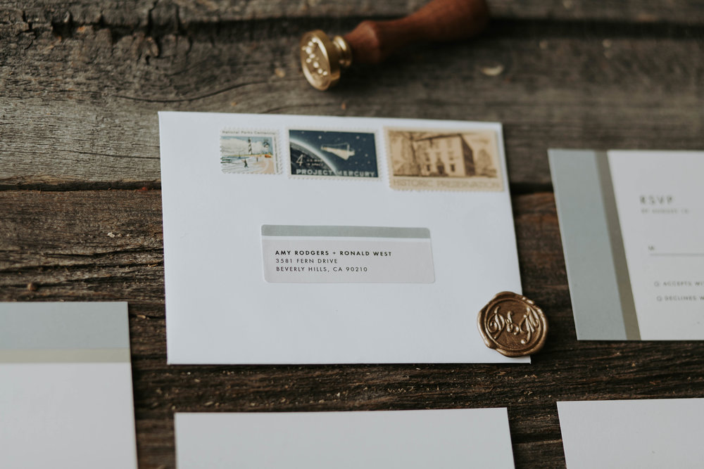 Lifestyle blogger Devin McGovern of Outlined Cloth talks wedding invitations with Paper Culture