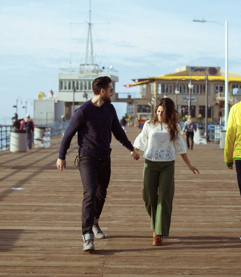 Lifestyle blogger Devin McGovern of Outlined Cloth enjoys a couples weekend at The Georgian in Santa Monica, California.