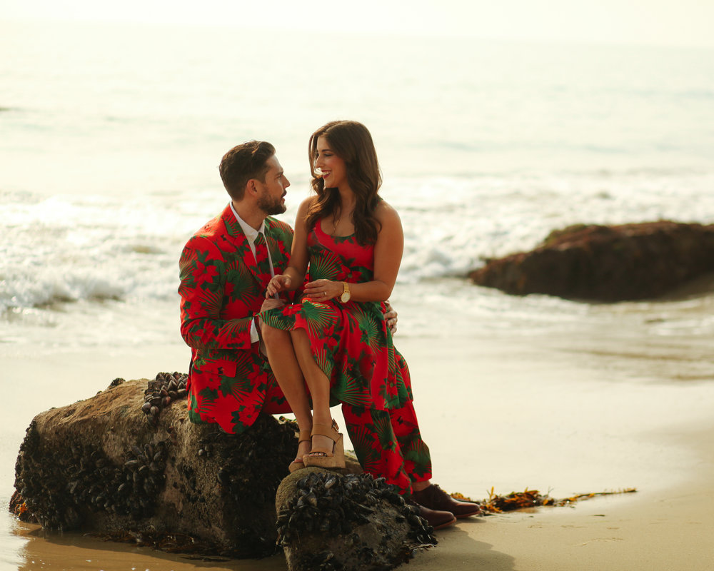 ocean, beach, California Christmas, Christmas outfits