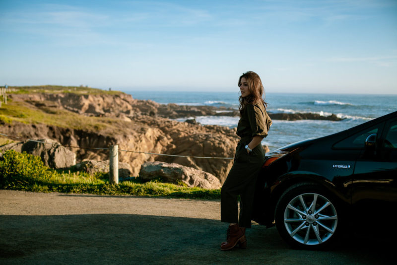 Lifestyle blogger Devin McGovern and wife Marlene of Outlined Cloth travels to Cambria for the weekend