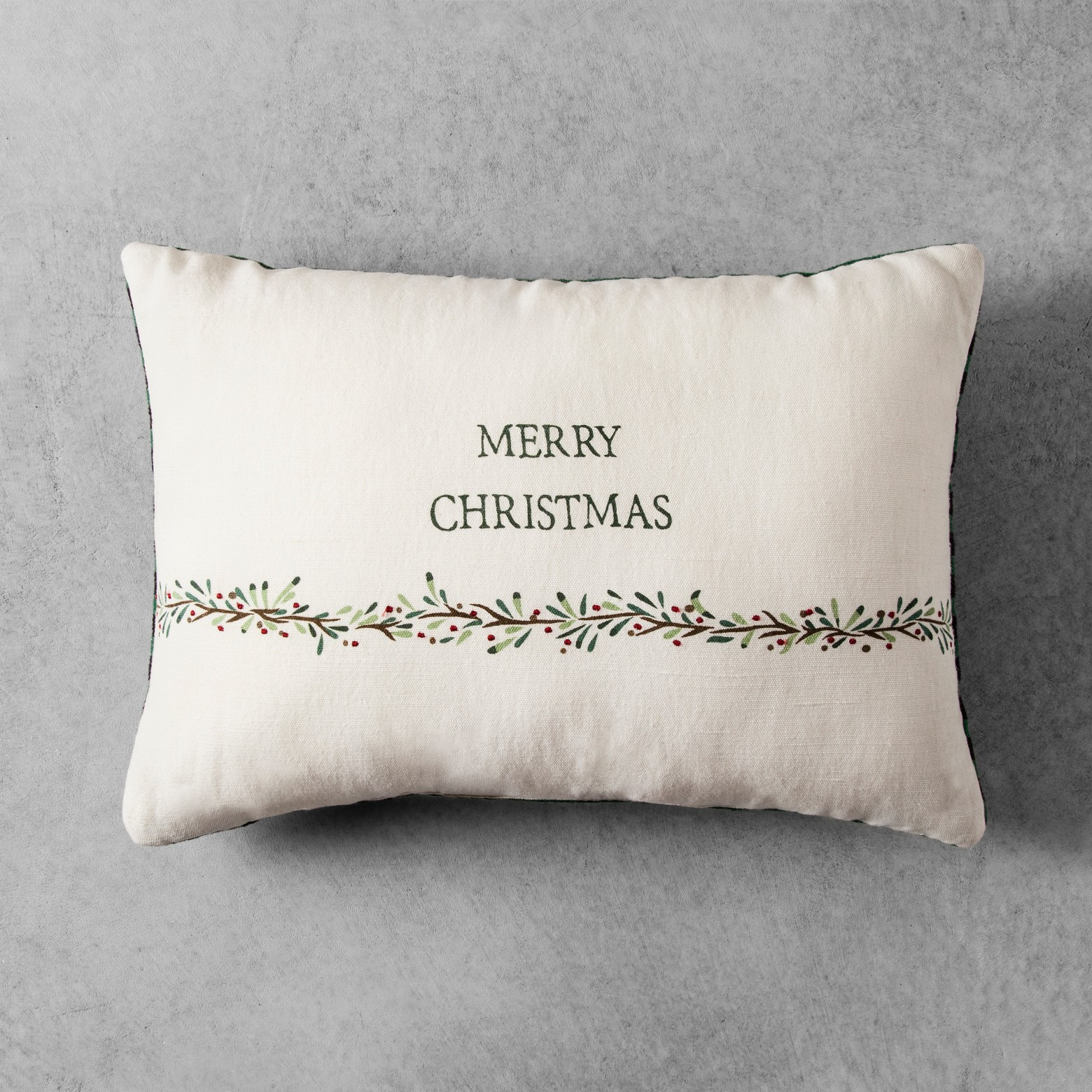 Home & Hearth Christmas Pillow