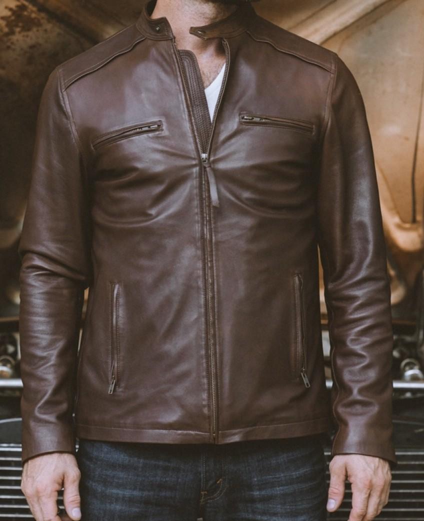 Buffalo Jackson Leather Jacket