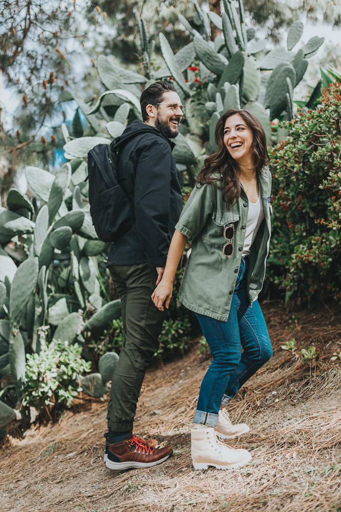 Lifestyle blogger Devin McGovern and wife Marlene Martinez keep the doctor away and marriage happy hiking in California in their Timberland boots