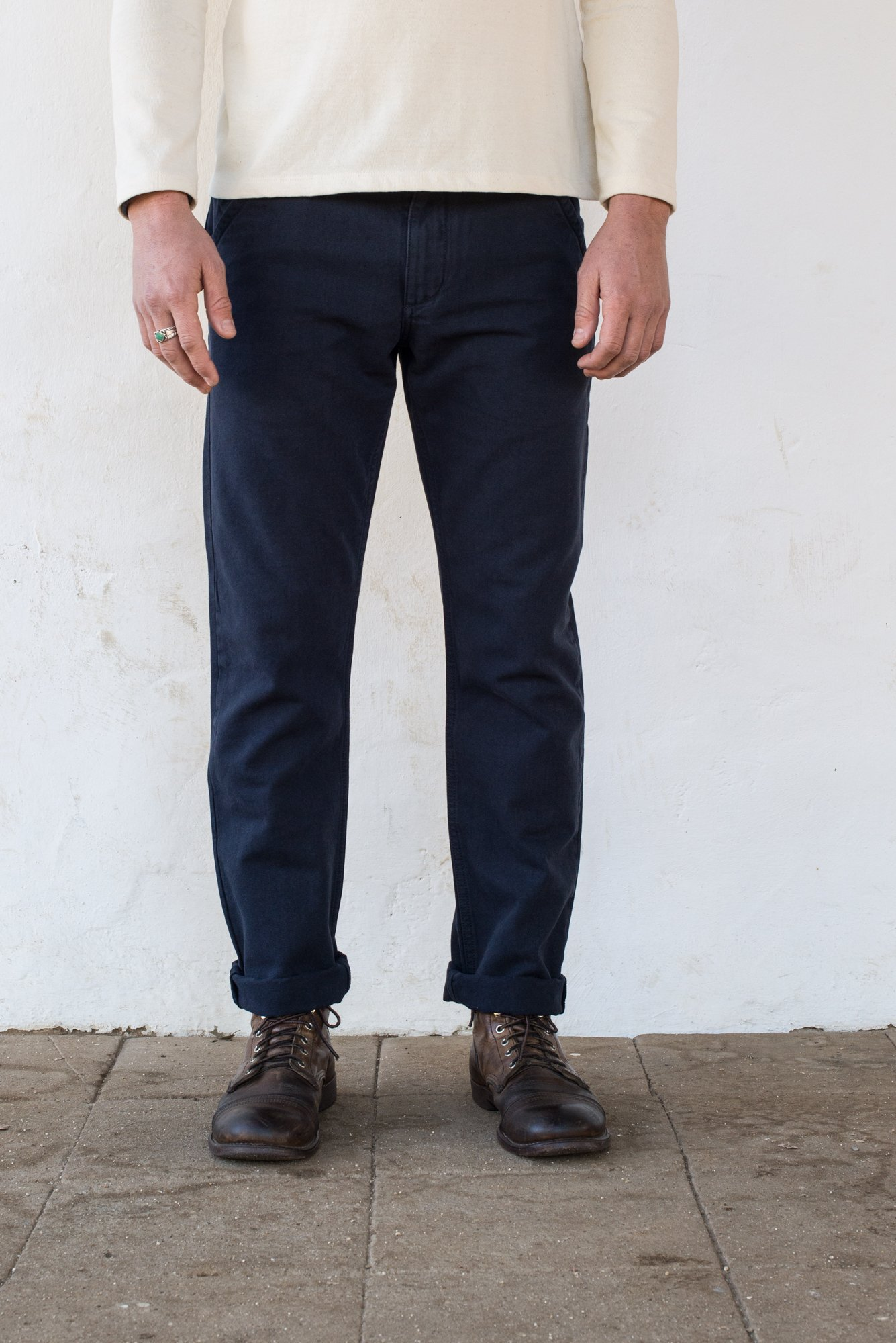 Freenote chinos navy