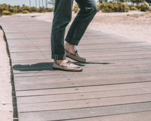 Summer with Sperry and Outlined Cloth