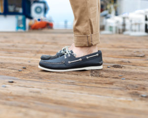 Sperry and Outlined Cloth in Malibu California