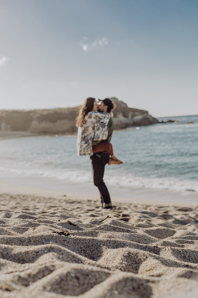 Lifestyle bloggers Devin and Marlene of Outlined Cloth road trip to Big Sur, Carmel and Monterey